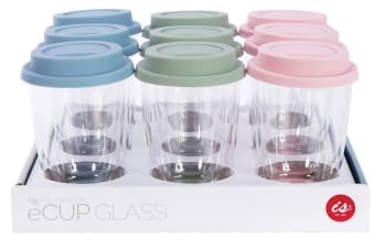 IS Gift eCup Glass Double Walled