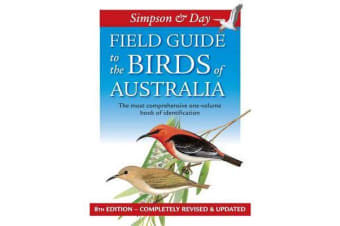 Field Guide To The Birds Of Australia - 8Th Edition