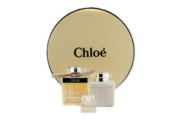 Chloe Chloe Coffret: Eau De Parfum Spray 75ml/2.5oz + Body Lotion 100ml/3.4oz + Miniature 5ml/0.17oz (Round Box) (3pcs)