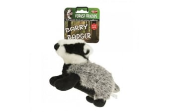 Animal Instincts Forest Friends Dog Plush Toy (Barry Badger)