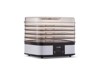 5 Star Chef Food Dehydrator with 5 Trays (White)