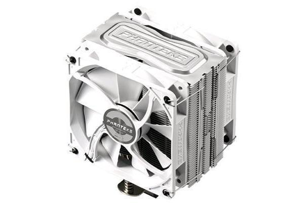 Phanteks PH-TC12DX U-Type Dual Tower Premier CPU Cooler with 2 x 120mm premier white fans