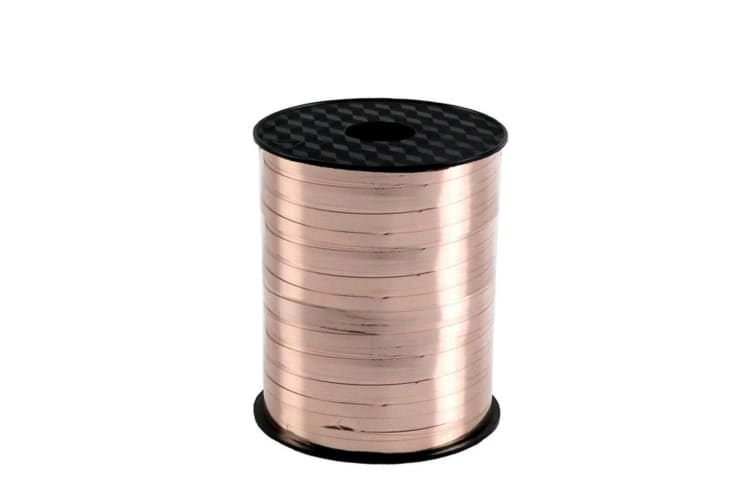 Apac 250M Curling Ribbon (Rose Gold) (One Size)