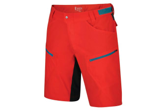 Dare 2B Mens Renew Multi Pocket Cycle Shorts (Fiery Red) (34in)