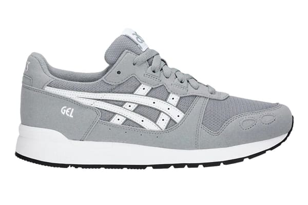 ASICS Tiger Unisex Gel-LYTE Shoe (Stone Grey/White, Size 13)