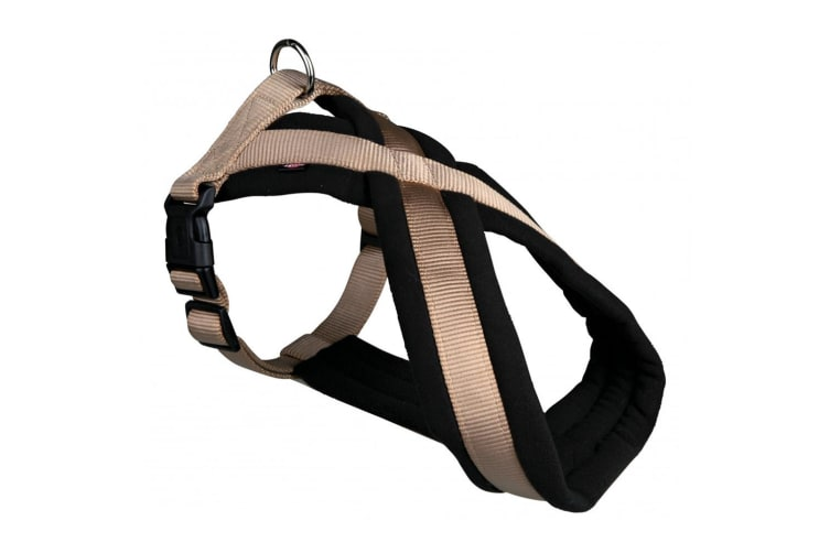 Trixie Premium Touring Dog Harness (Beige) (M)