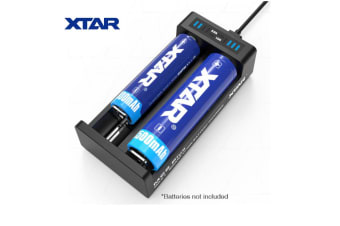 Xtar MC2 Plus USB Input Automatic TwoChannel 1-2 Cell Lithium Ion BatteryCharger
