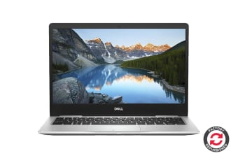 "Dell Inspiron 13 7380 13.3"" FHD Windows 10 Laptop (i5-8265U, 8GB RAM, 256GB, Silver) - Certified Refurbished"