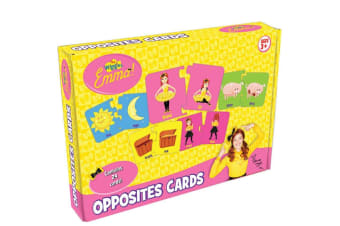 The Wiggles Emma Opposites Cards Game