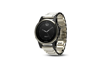 Garmin Fenix 5s Sapphire Edition Champagne with Metal Band