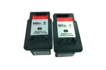 PG-640XL CL-641XL Remanufactured Inkjet Cartridge Set (New Chip)