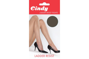 Cindy Womens/Ladies Ladder Resist Tights (1 Pair) (Pearl Grey)