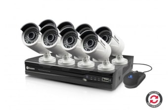 Refurbished Swann 8 Channel 4MP Network Video Recorder with 8 x NHD-818 4MP Cameras (SWNVK-874008-AU)