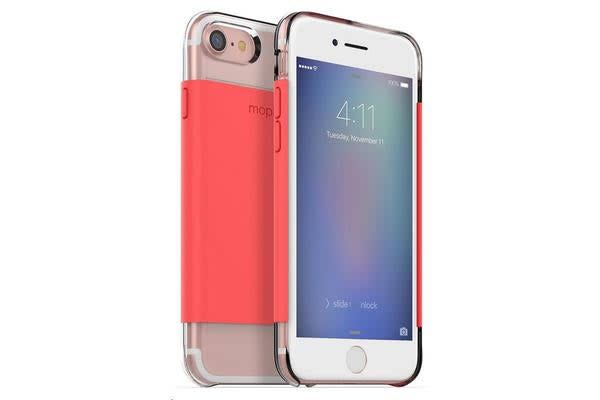Mophie iPhone 7 Hold Force Base Case - Coral