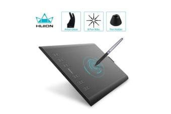 Huion H1060P 10 x 6.25 inches tablet w/Battery-free Stylus 8192 Levels of Pressure Sensitivity