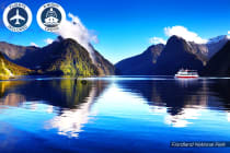 NEW ZEALAND: 13 Day New Zealand Cruise Including Flights for Two