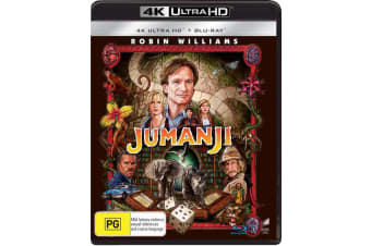 Jumanji 4K Ultra HD Blu-ray Digital Download UHD Region B