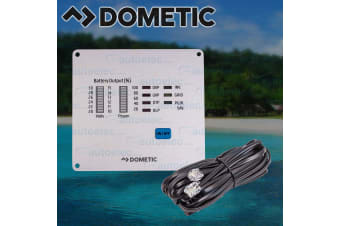 DOMETIC WAECO POWER INVERTER REMOTE CONTROL PANEL BATTERY VOLTAGE DISPLAY MCR-7