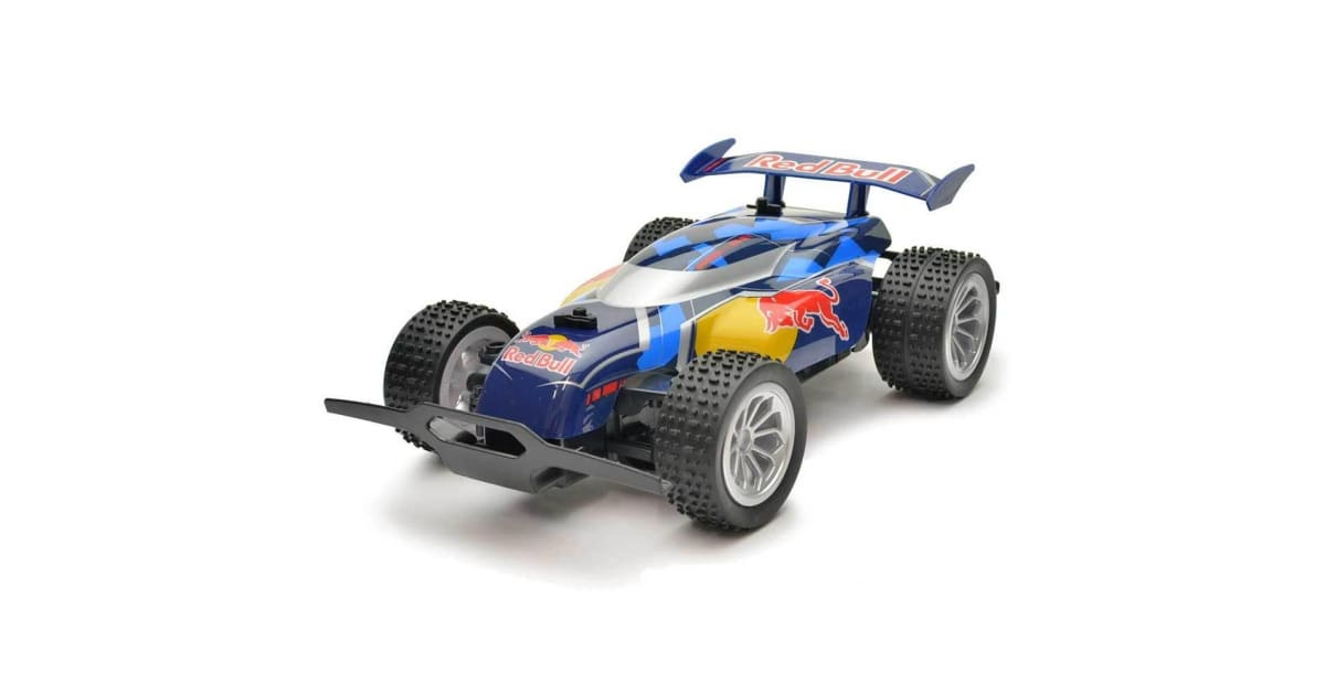 carrera rc 1 20 red bull rc2 remote control buggy. Black Bedroom Furniture Sets. Home Design Ideas