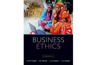 Business Ethics - Managing Corporate Citizenship and Sustainability in the Age of Globalization