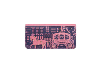 Intrigue Womens/Ladies Horse And Carriage Print Purse (Purple/Pink) (One Size)