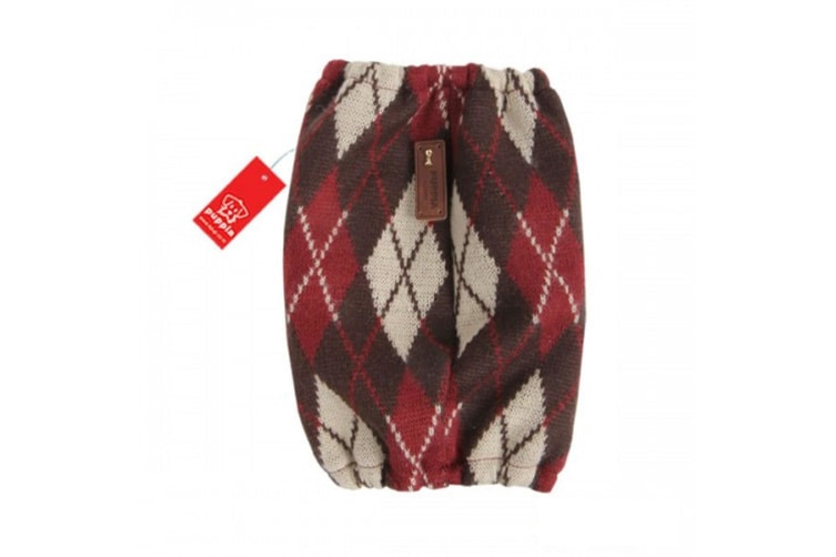 Puppia Lineage Dog Snood (Brown/Red) (S)