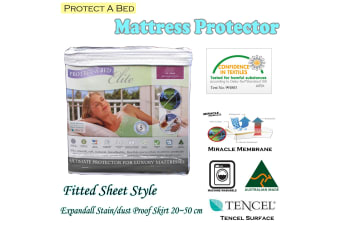 Protect A Bed Natural Sleep Surface Mattress Protector DOUBLE