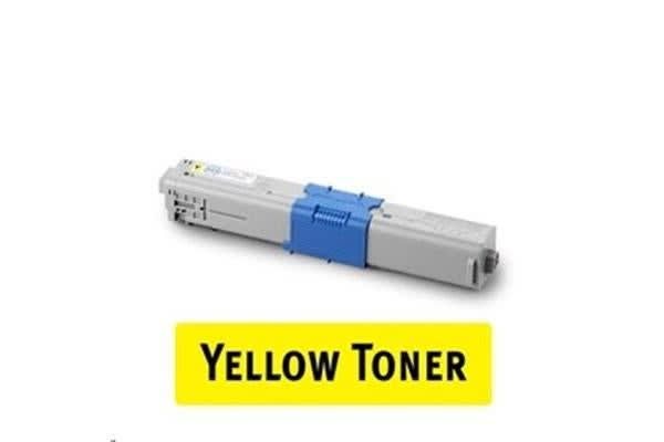 44469725 Oki Compatible High Yield Toner - Yellow