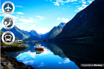SCANDINAVIA: 14 Day Incredible Scandinavia Tour Including Flights for Two