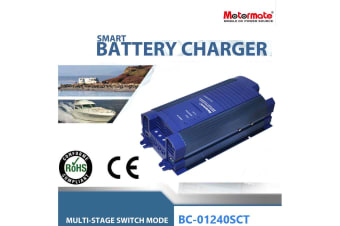Motormate AC to DC 12V 40A  fully automatic Smart Battery Charger