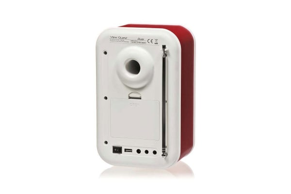 View Quest Christie DAB+ Radio & Speaker - Red (CHRISTIE-RD)