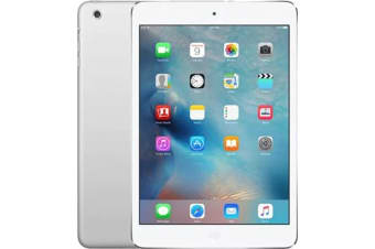 Used as demo Apple iPad Mini 64GB Wifi + Cellular Silver (100% Genuine)
