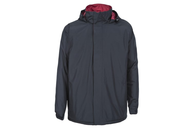 Trespass Mens Taylor Waterproof Jacket (Navy) (S)