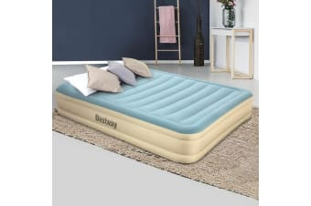 Bestway Queen Size Air Bed Inflatable Mattress Sleeping Mat Essence