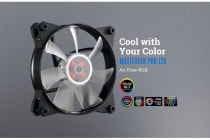 Coolermaster MasterFan Pro RGB Air Flow 120mm Fan, Certified compatible with ASUS, Gigabyte MSI and AsRock RGB motherboard