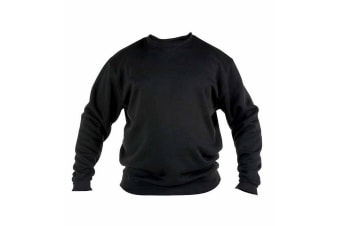 Duke Mens Rockford Kingsize Sweat Crew Neck Jumper (Black)