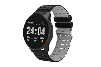 Smart Watch Large Color Screen Sleep Monitoring Motion Bracelet Grey