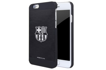 FC Barcelona iPhone 6/6S Aluminium Case (Black) (One Size)