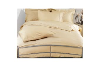 Belledorm 200 Thread Count Egyptian Blend Duvet Cover (Papyrus) (Single)