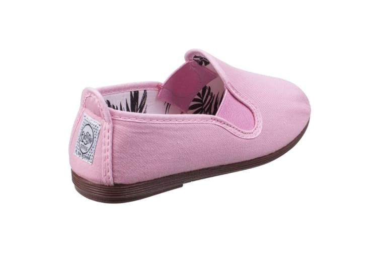 Flossy Childrens/Kids Arnedo Slip On Shoe (Baby Pink) (7.5 Child UK)