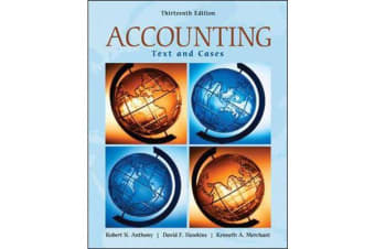 Accounting - Texts and Cases