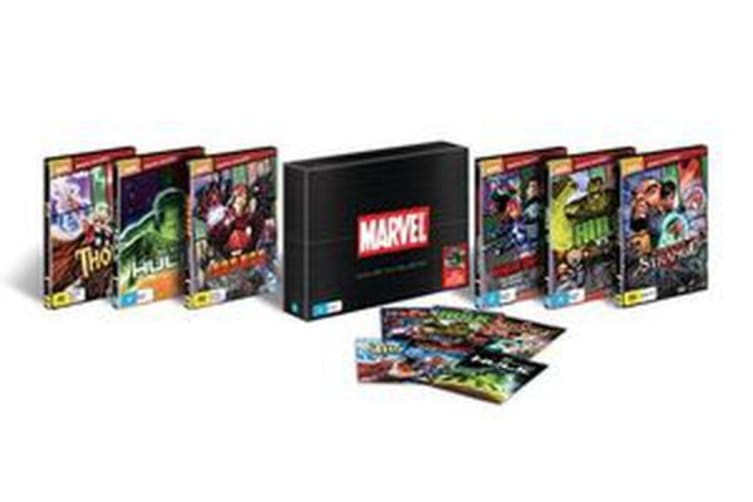 Marvel Animated Film Collection