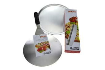 Pizza Pro Pack - 30cm Tray + Pizza Lifter + Rocking Cutter