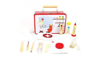 Doctor Wooden Play Set in Tin Case - Kaper Kidz