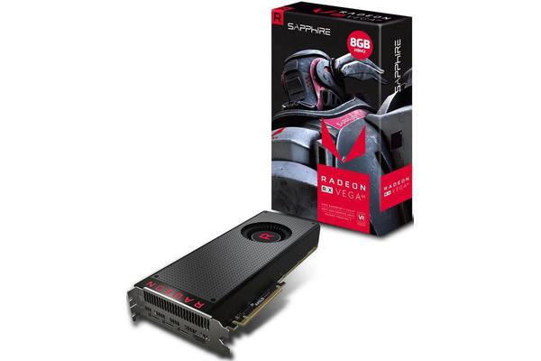 Sapphire AMD RX VEGA 64 8GB Gaming Video Card - HBM2 3xDP/HDMI VR Ready Core 1546MHz