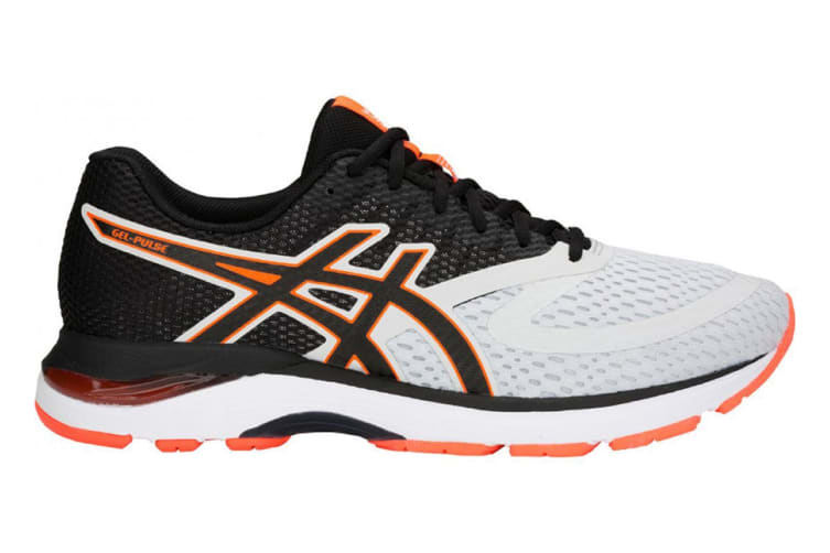 ASICS Men's Gel-Pulse 10 Running Shoe (Glacier Grey/Black, Size 9.5)