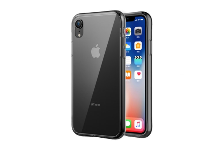 Clear Tempered Glass Back Cover,Soft Tpu Edge Protection Cases For Iphone Xr