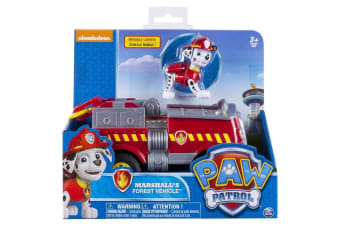 Paw Patrol Marshall's Forest Vehicle with Figure