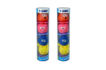 2PK Tomy Octopals Squirters Gift Tube - 4pc - 12m+