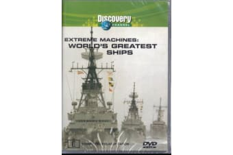 EXTREME MACHINES WORLD'S GREATEST SHIPS: -Educational Series Region 4 DVD NEW